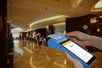 安卓POS机TPS900酒店应用图.png