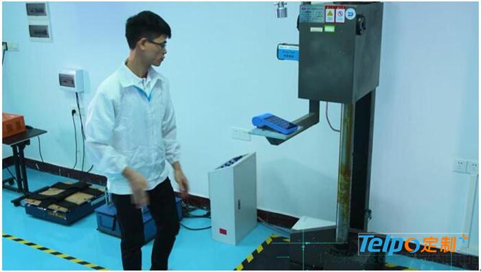 TPS900智能手持收银机出色通过抗跌落测试.jpg