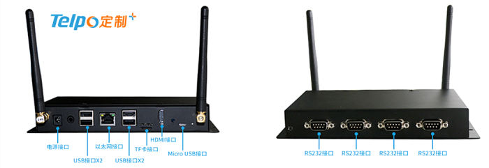 天波智能工控机TPS400的外部接口.png