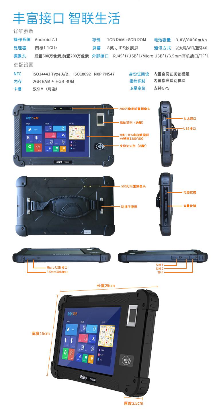 TPS450人脸指纹身份证信息识别平板_10.jpg