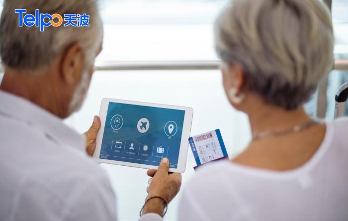 使用刷脸支付等新技术的老年群体越来越多.jpg