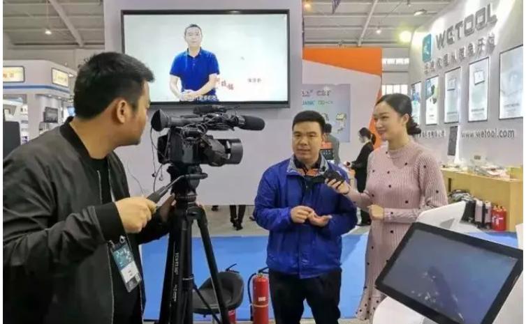 2018年天波智能接受现场媒体采访.png