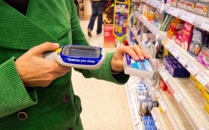 超市使用的自助收银,顾客可以自助扫码商品条形码结算.png