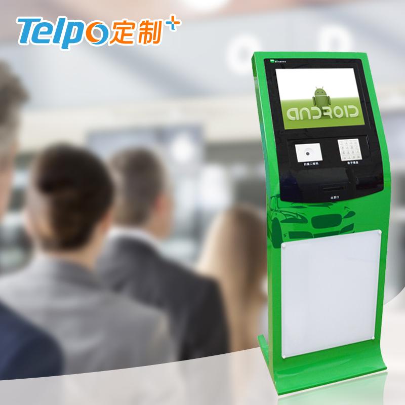 影院景区 自助柜式终端 安卓智能排队叫号机 TPS617A