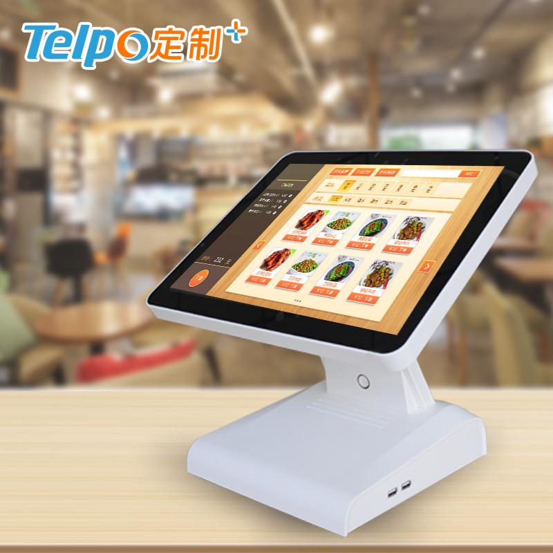 智能收银机 单屏 智能收银5.0 商场超市 高清触摸屏 TPS615