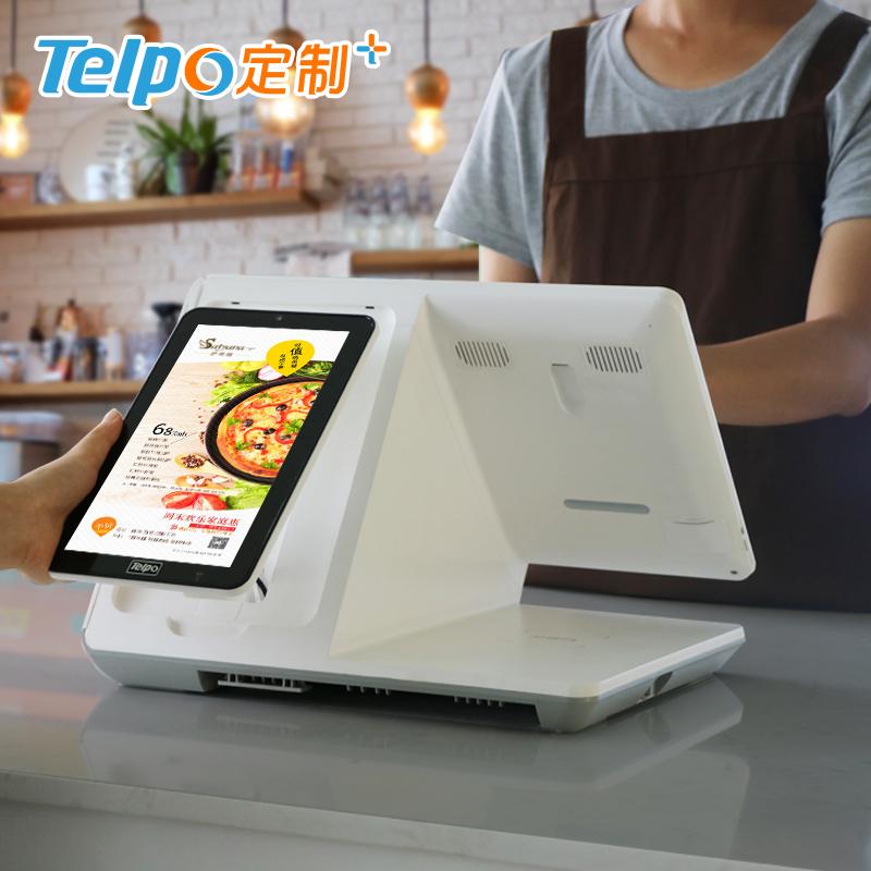 智能收银5.0 新零售 双屏异显 天波安卓收款机 TPS660