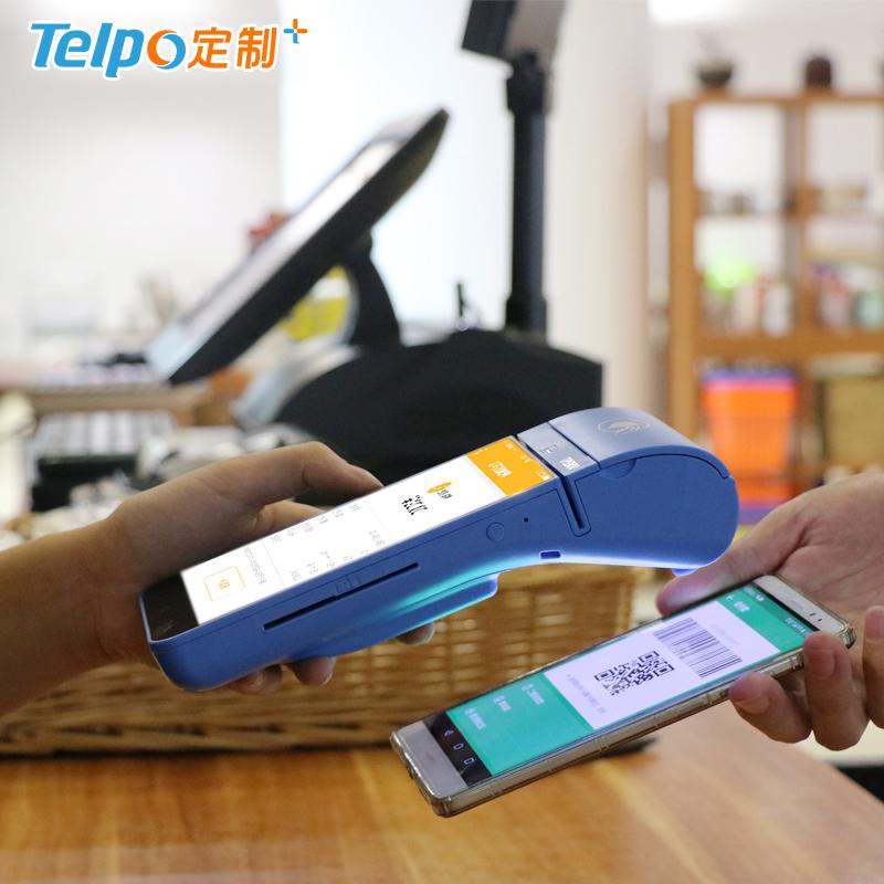 安卓手持终端 智慧金融3.0 手持收银机TPS900