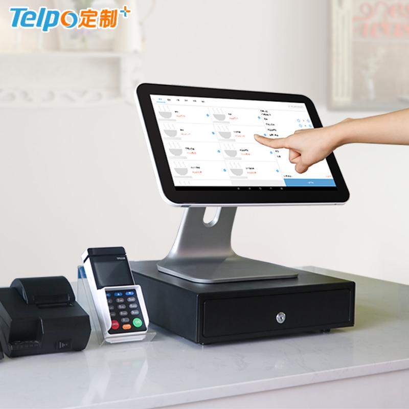 简易收银机 15.6英寸 八核单屏 商业收银机 TPS685