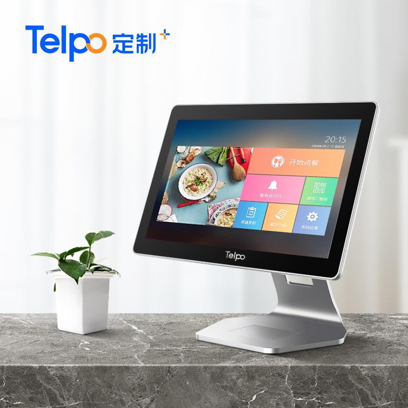 安卓单屏收银机 餐饮点单收款机 智能收银5.0 TPS683
